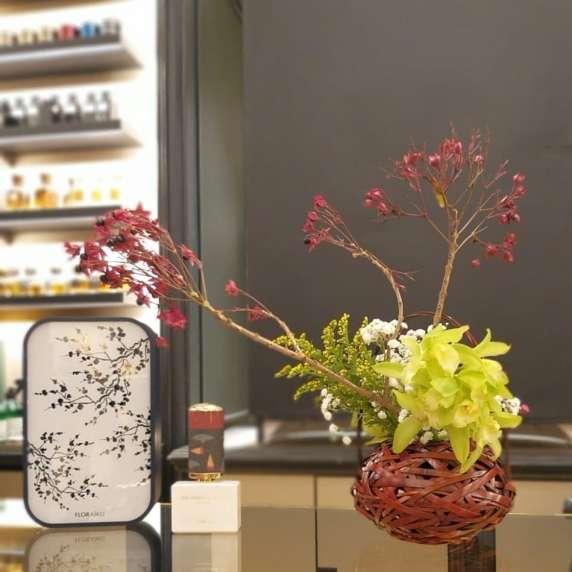 Ikebana di Ilaria Mibelli - Foto Luca Ramacciotti